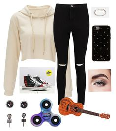 """""""Outfit #291"""" by chjulian13 ❤ liked on Polyvore featuring Kingsley Ryan, Kate Spade, Avon, Boohoo and Hot Topic"""