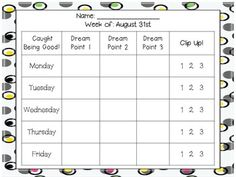 """Time to tame your chatty class!!! Personalized, individual behavior charts for each desk. Help students work on self-managing with these charts. One """"caught you being good"""" chart and one """"t=talking"""" chart (with 3 strikes before they move their clip, per day). Give instant visual feedback for behavior in a positive, dignifying way!"""