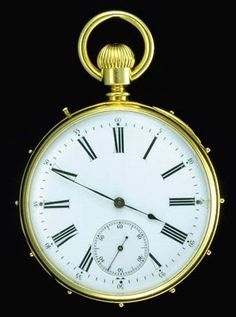 Helen Keller's Watch, Late 1800s via @National Museum of American History, Smithsonian