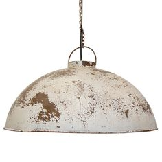 """Lampa - """"Fabriksstil Vit"""" från Trademark 1395.00 kr - Fröken Fräken"""