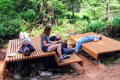 STUDENT Project | Fircom Amphitheatre | Gambier Island, BC, Canada #canada #park #furniture #installation