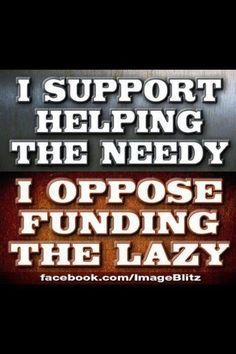 Get a job people!! Don't live off food stamps and then complain about the government providing it to you.