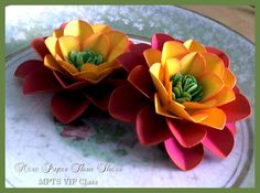 #Paper #Flower #Decoration