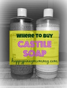 Where to buy Castile Soap in the Philippines - Happy Pinay Mommy Philippines Culture, Castile Soap, Cleaning, Happy, Stuff To Buy, Essential Oils, Ser Feliz, Home Cleaning, Essential Oil Uses