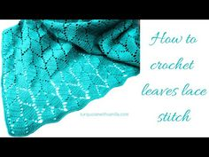 Crochet Baby Blanket Free Pattern, Afghan Crochet Patterns, Lace Patterns, Crochet Shawl, Knitting Patterns Free, Unique Crochet, Easy Crochet, Crochet Crafts, Crochet Projects