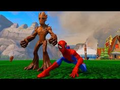 Spiderman Having Fun with Groot with Waterslides, Balloons, and Robots with Kids Songs and Rhymes http://4kcartoonsandgames.com/portfolio/2016/2/20/spiderman-having-fun-with-groot-with-waterslides-balloons-and-robots-with-kids-songs-and-rhymes