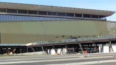 Marquise nos Fundos da Arena Pantanal Lado Jardim Primavera - Copa 2014