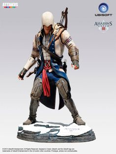Estatua Assassin´s Creed III. Connor Kenway tamaño real. 2 mt. Attakus