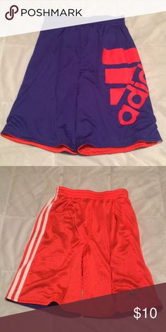size 40 24123 1734c Adidas reversible basketball shorts Never worn! Run long adidas Bottoms  Shorts Adidas Bottoms, Basketball