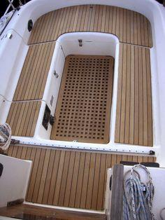Teak boat decking / cockpit linings CASA MARE