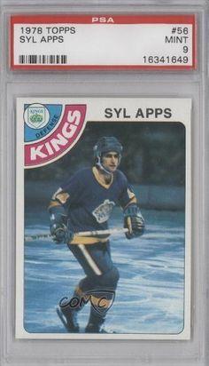 Syl Apps PSA GRADED 9 Syl Apps Jr. (Hockey Card) 1978-79 Topps #56 by Topps. $9.95. 1978-79 Topps #56 - Syl Apps PSA GRADED 9