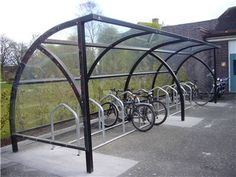 Physics East covered cycle storage