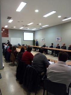 """Curso """"Perspectiva legal del despliegue de redes de telecomunicaciones"""" para los asociados de AOTEC. en la ciudad de Sevilla."""