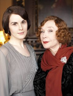 Lady Mary Crawley and her American Gandmother