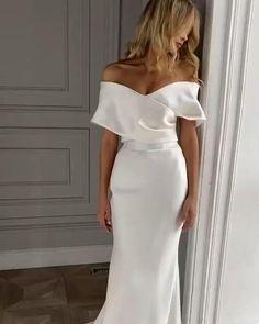 Dream Wedding Dresses, Bridal Dresses, Wedding Gowns, Prom Dresses, Boho Wedding, Couture Bridesmaid Dresses, Civil Wedding Dresses, Wedding Dress Organza, Sexy Dresses
