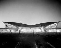 TWA Terminal by Eero Saarinen, architect.