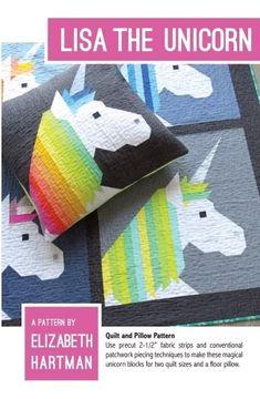 Lisa the Unicorn Pattern by Elizabeth Hartman
