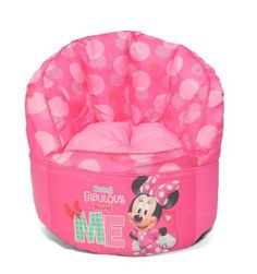 d9adc69f23 Kids Bean Bag Chair Toddler Seating Minnie Mouse Toddler Kids Furniture  Disney