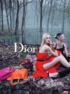 Dior Secret Garden Versailles Ad Campaign.