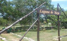 Entrada al Centro de Interpretación Ambiental de Laguna de Maya, un Refugio de Fauna en Matanzas, Cuba.