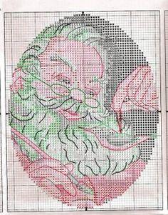 kleine Santas für den Weihnachtsbaum 7