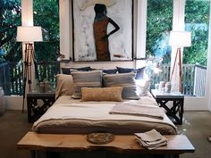 One of TOO MANY ideas for a bedroom revamp. Need to get off Pinterest now. LIKE RIGHT NOW.