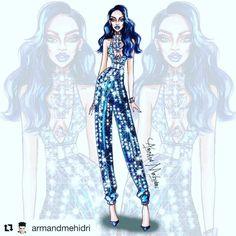 #Repost @armandmehidri with @repostapp #Throwback #DWT #Rihanna #FashionIllustration (at Melbourne, Australia)
