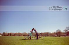 Biking in River Falls Wisconsin