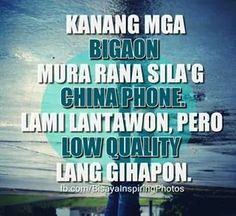 China phone you. Tagalog Quotes Hugot Funny, Hugot Quotes, Funny Qoutes, Bisaya Quotes, Patama Quotes, Quotable Quotes, Funny Knock Knock Jokes, Hugot Lines, Good Thoughts
