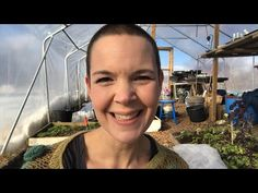 Winter gardening in my poly tunnel. Growing veggies during winter in a colder climate. How to become self-sufficient on less than 1 acre. Self Sufficient, Growing Veggies, Harvest Season, Winter Garden, Acre, How To Become, Gardening, This Or That Questions, Conservatory