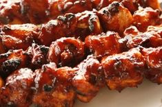 I really enjoy BBQ chicken, but for some reason I don't have it that often. Beef Recipes, Chicken Recipes, Cooking Recipes, Barbeque Side Dishes, Pollo Chicken, Chicken Kebab, Dinner Entrees, Barbecue Chicken, Meals