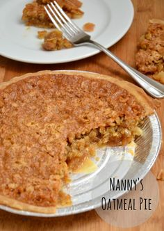 The very best chewy and sweet oatmeal pie from JessicaNWood
