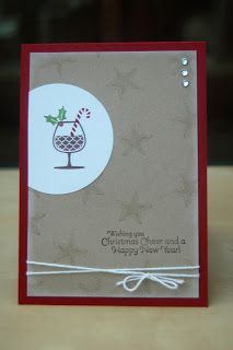Julie's Japes - An Independent Stampin' Up! Demonstrator in the UK: Christmas Cheer Stamp a Stacker!!!