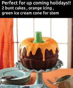 Fall - pumpkin bundt cake