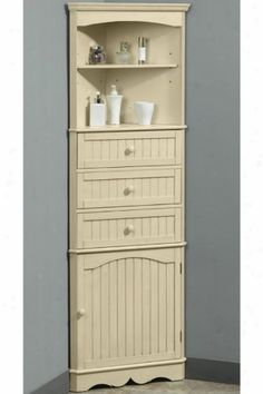 Beautiful Corner Bathroom Cabinet