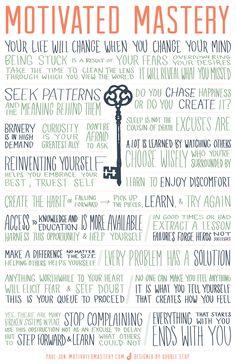 Manifesto   Motivated Mastery
