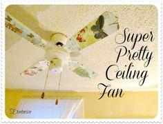 Etcetorize: Super Pretty Ceiling Fan