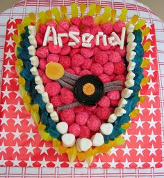 Arsenal Sweet Cake