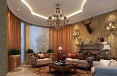 Gillette Interiors Ideas Part 2 Impressive Living Room Pop Ceiling