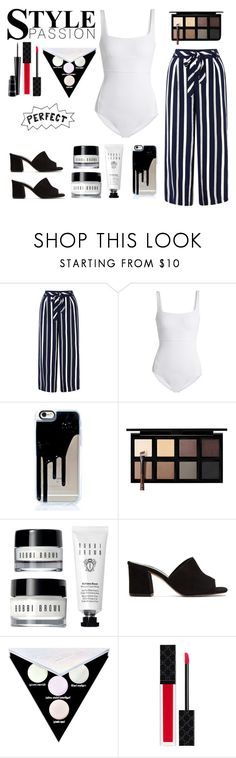 """Summer Vibes"" by itsangelabitchh ❤ liked on Polyvore featuring Monsoon, MaxMara, Down to Earth, Maryam Nassir Zadeh, Kat Von D, Gucci and MAC Cosmetics"