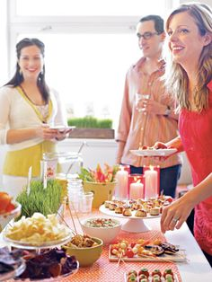 Easy Menu Ideas for Your Spring Bash