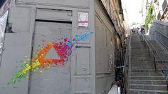 Dans les rues de Paris...