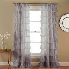 Olivia Gray Window Curtain
