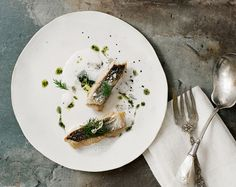 Crispy Skinned Cod with Citrus Foam | The Jewels of New York