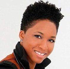Most Beautiful Short Natural Haircuts for Black Women - Love this Hair