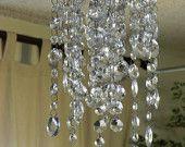UNIQUE Avid Disk Brake Crystal Chandelier Whindchime Facinator Hanging Home Decor. $85.00, via Etsy.