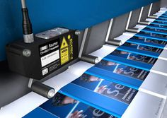 The typical applications or uses of Baumer products are virtually limitless in graphic machinery: Actuator drives enable quick format adjustment, for example; photoelectric or inductive sensors ensure precise positioning during the printing process.