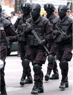 ROC Taiwan Special Forces with ballistic masks