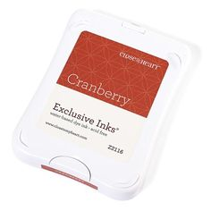 Close To My Heart Z2116 Cranberry Exclusive Inks™ Stamp Pad - new packaging; color not retiring on July 31, 2016