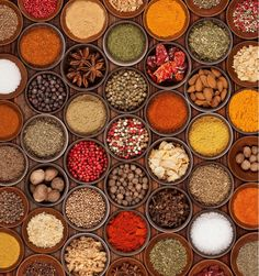 Do you know what makes Indian food the way it is? Well... take a look, its a blend of all these spices   #India #IncredibleIndia #indianspices #spicesofindia #indianfood #indianculinary #tasteforfood #travel #trip #tour #yolo #usa #UCLA